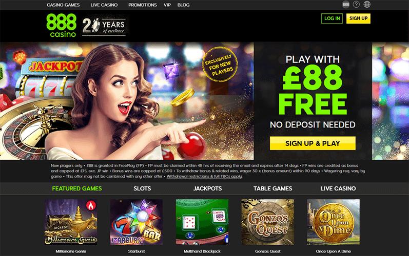 Casino 888 Uk